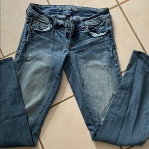 AE lite blue jeans
